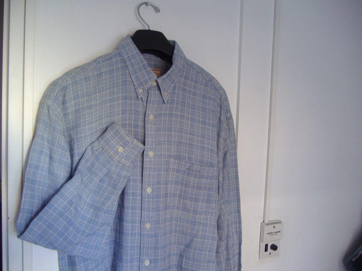 Camisa Airborn Clasic Algodon Manga Larga