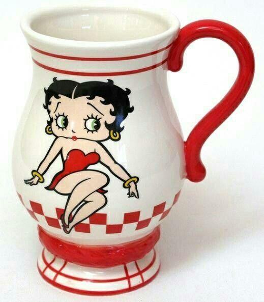 Betty Boop | MUGS/ CUPS | Pinterest | Betty boop