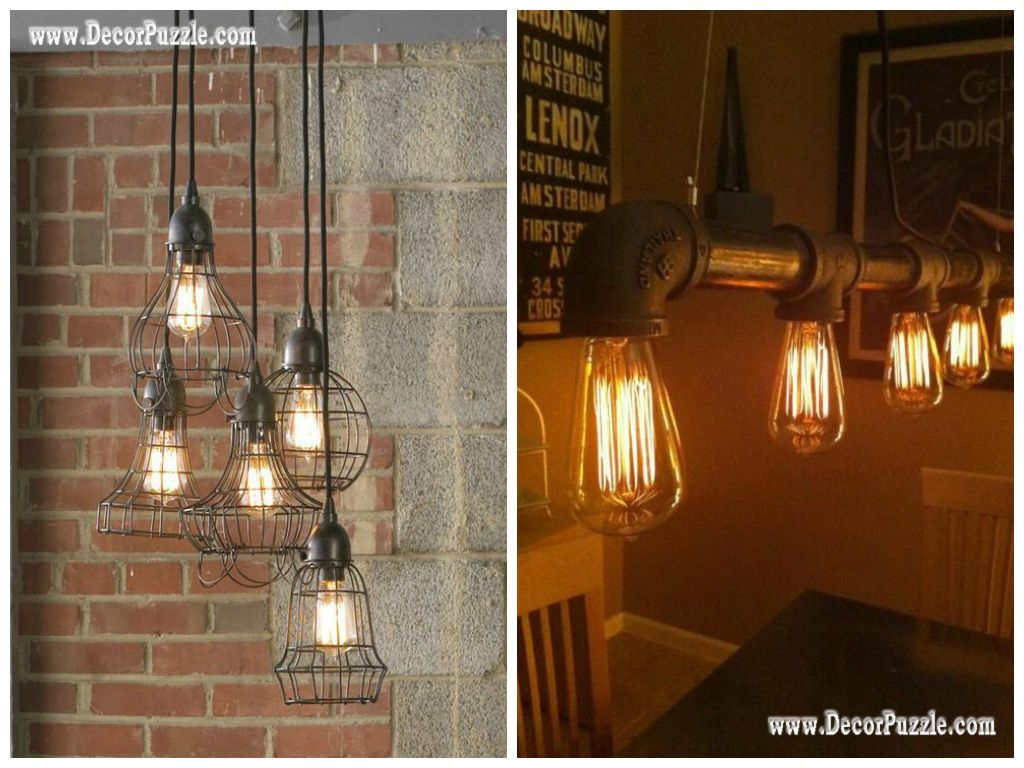 industrial kitchen style industrial chic decor industrial lighting