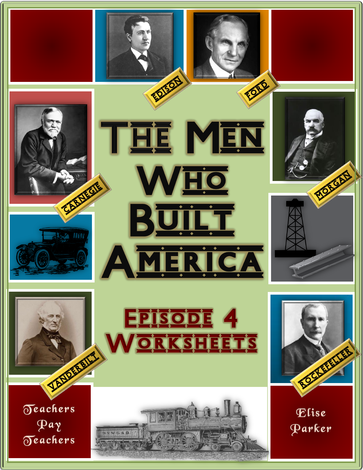 worksheet The Men Who Built America Worksheet the men who built america episode 4 worksheets standard oil help students learn more as they watch this engaging history