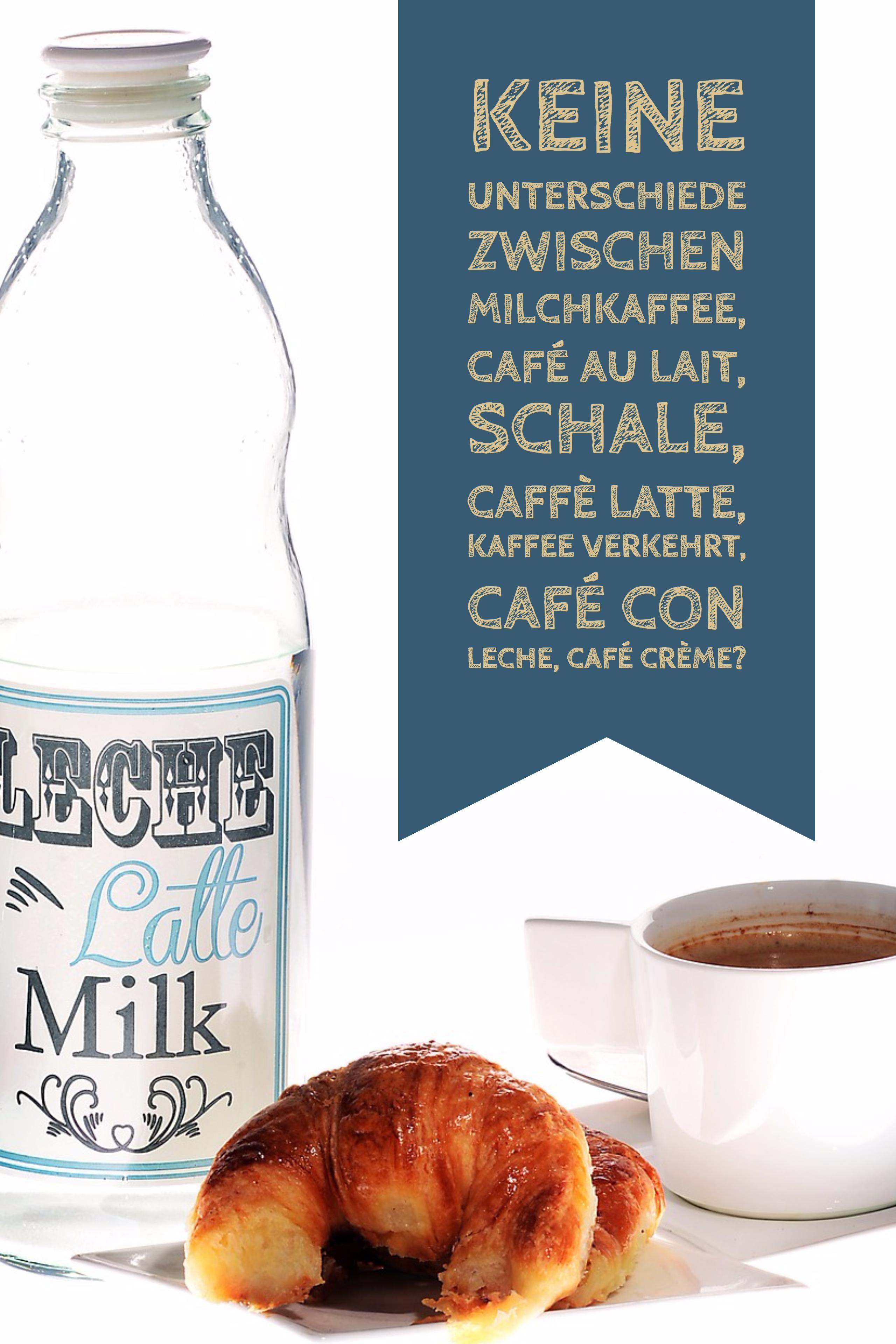 unterschied latte macchiato und milchkaffee