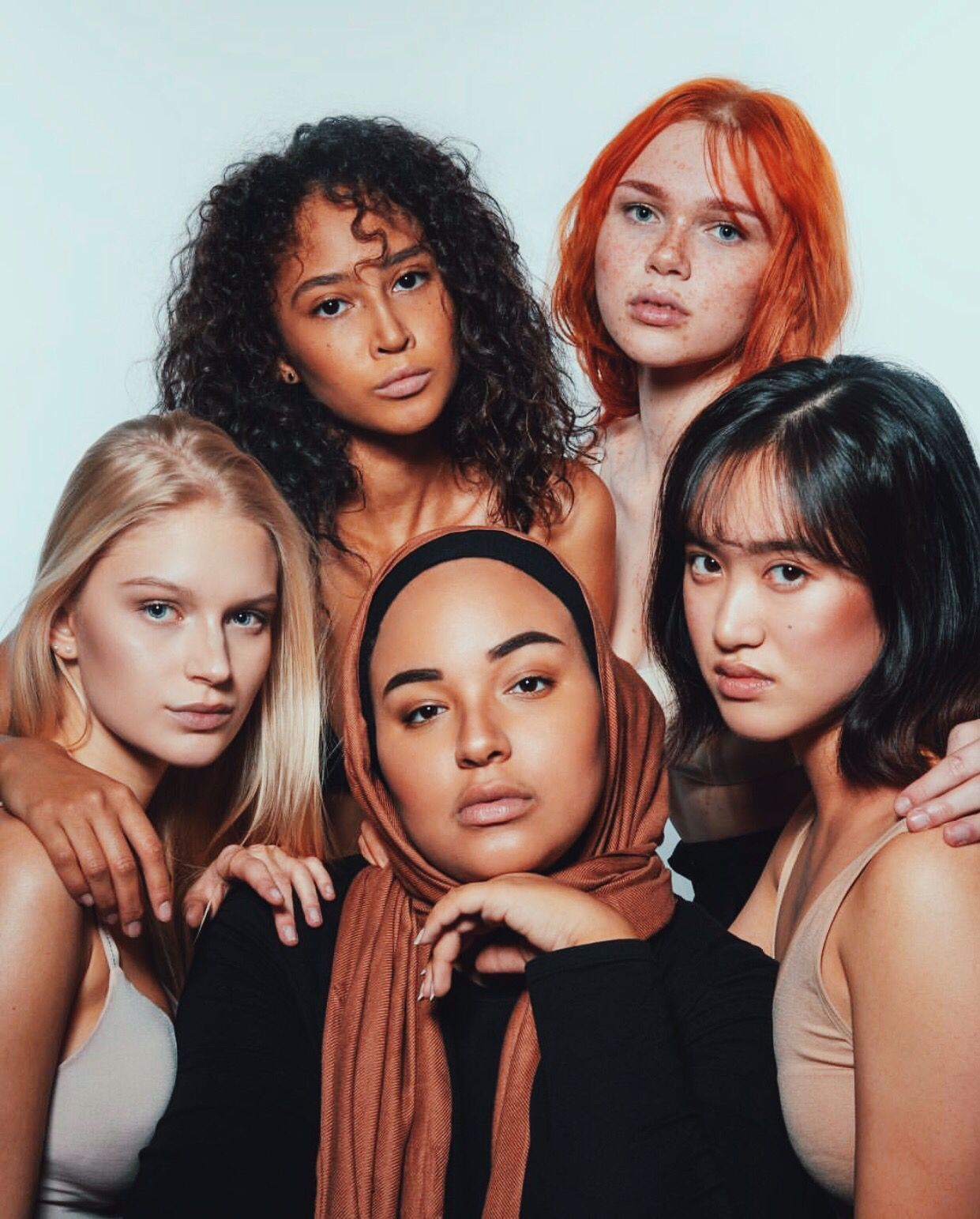 #diversity #multicolor #photography #portrait #ginger #muslim #blonde #asia #blackwomenmodels