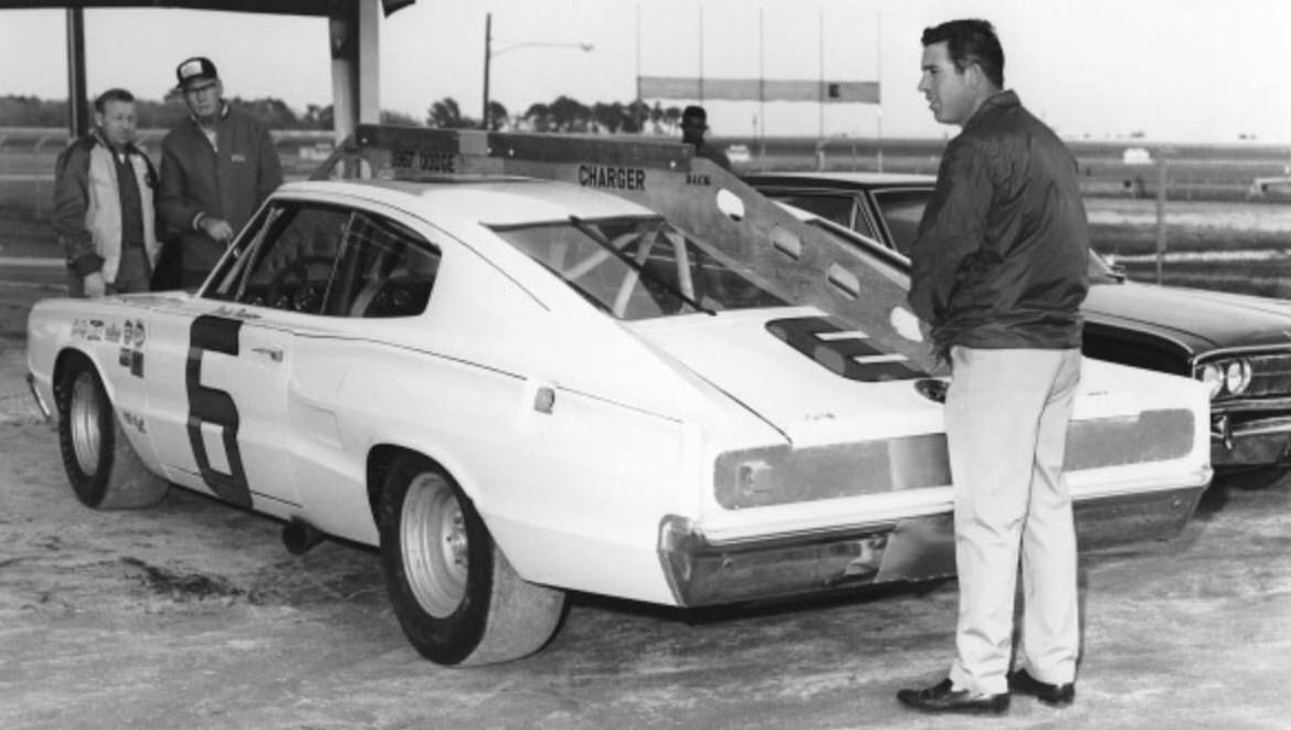 Cotton Owens 1966 Dodge Charger and David Pearson