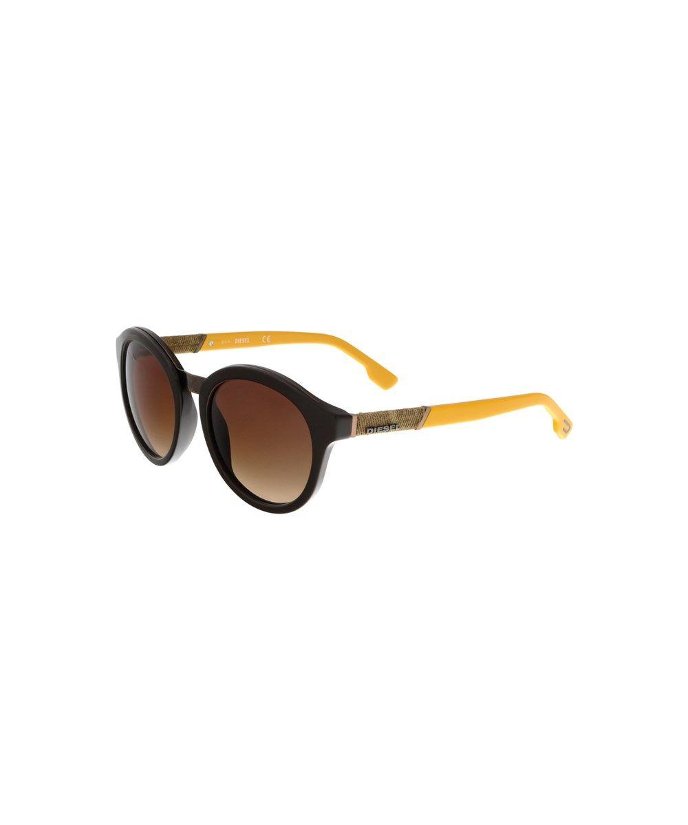 Dark Orange Sunglasses