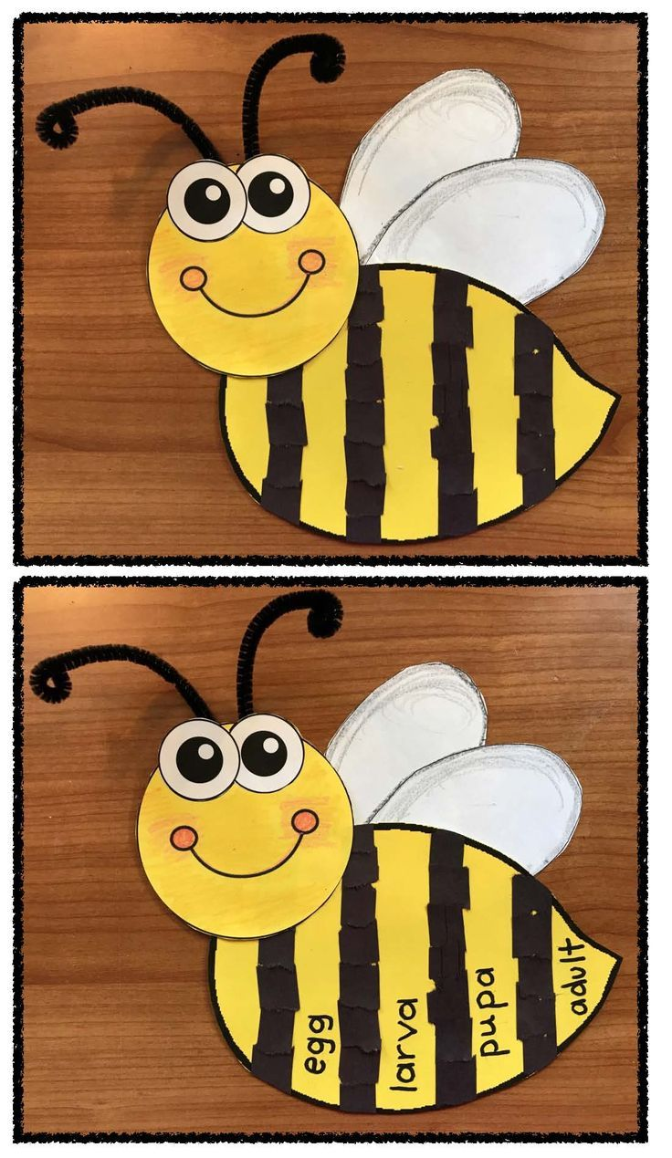 Busy as a bee bumble bee art bee crafts for kids bee