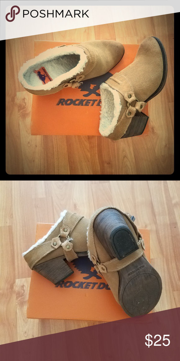 daf0bef20 Rocket Dog suede mules Only worn a few times. Oiled suede mules. Excellent  condition