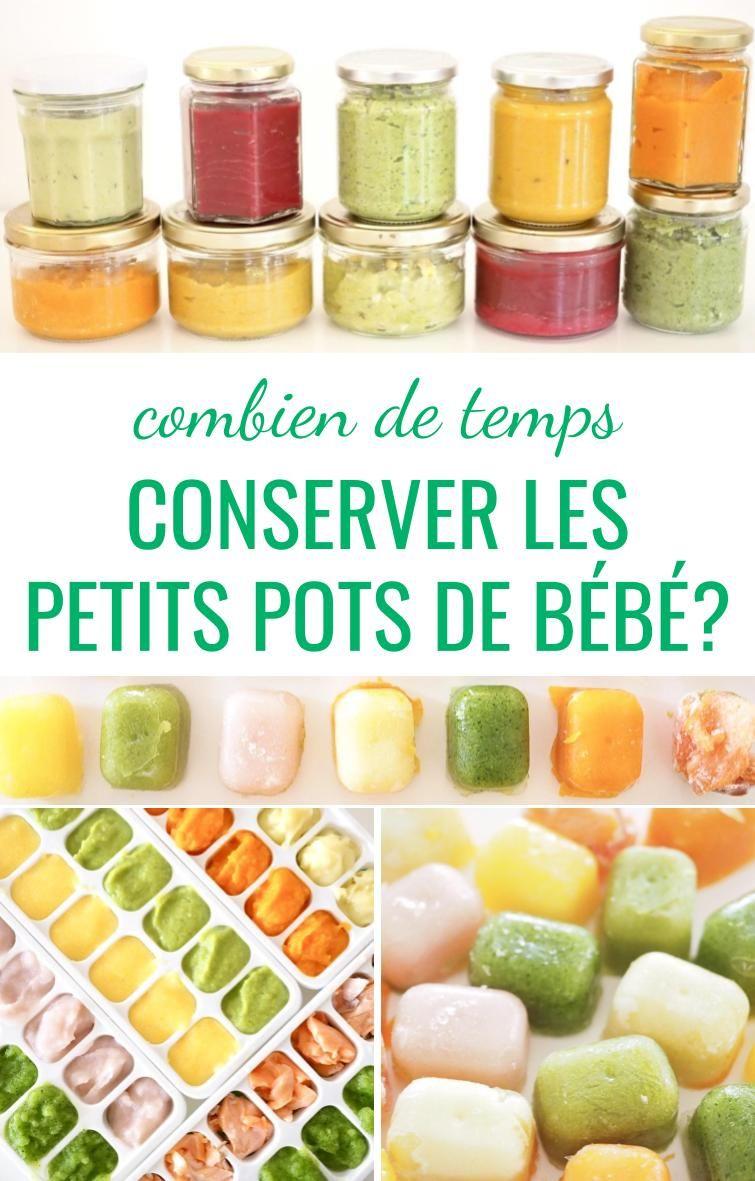 Bien Conserver Ses Petits Pots Maison Cuisinez Pour Bebe Repas Pour Bebe Faits Maison Nourriture Bebe Repas Bebe