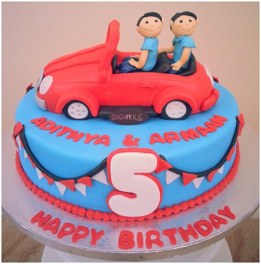 Twins car www.facebook.com/sugaholic.cakes