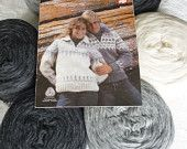 Cowichan SWEATER knitting kit natural wool outdoors yarn winter from Raincoaststudio on Etsy