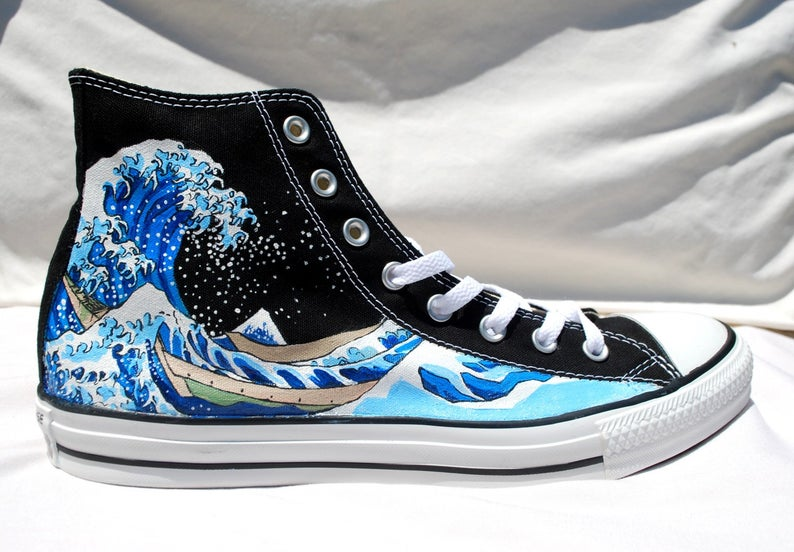 Hand Painted Converse Shoes - The Great