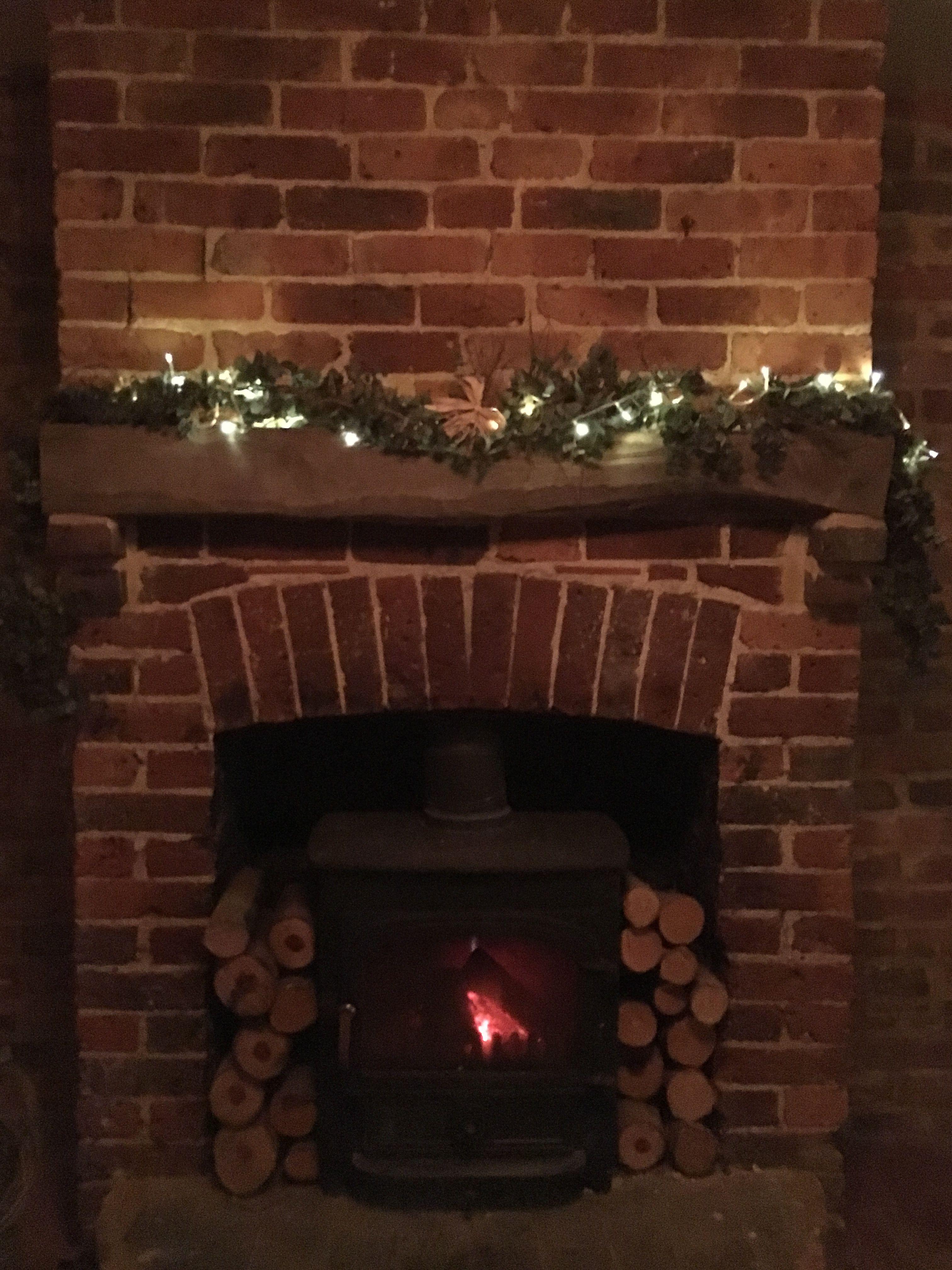 100 Year Old Fireplace Original Bricks And Lime Mortar Beam