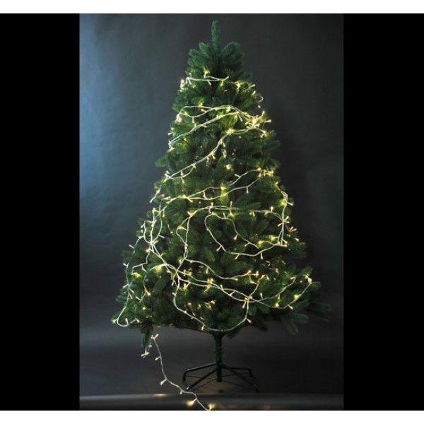 La cadena de luces LED es una decoración ideal para las fiestas de ...