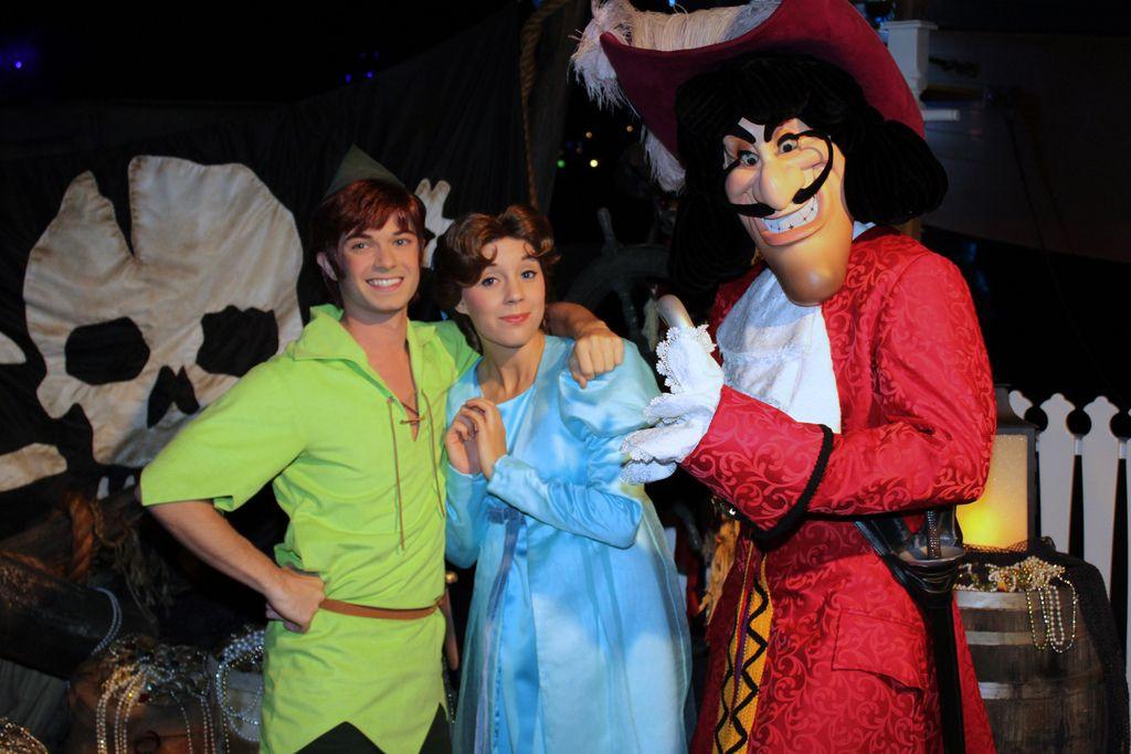Disney Resort Captain Hook from Peter Pan