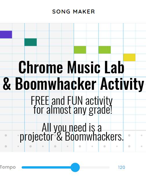 Chrome Music Lab/Boomwhacker Activity | Music Education