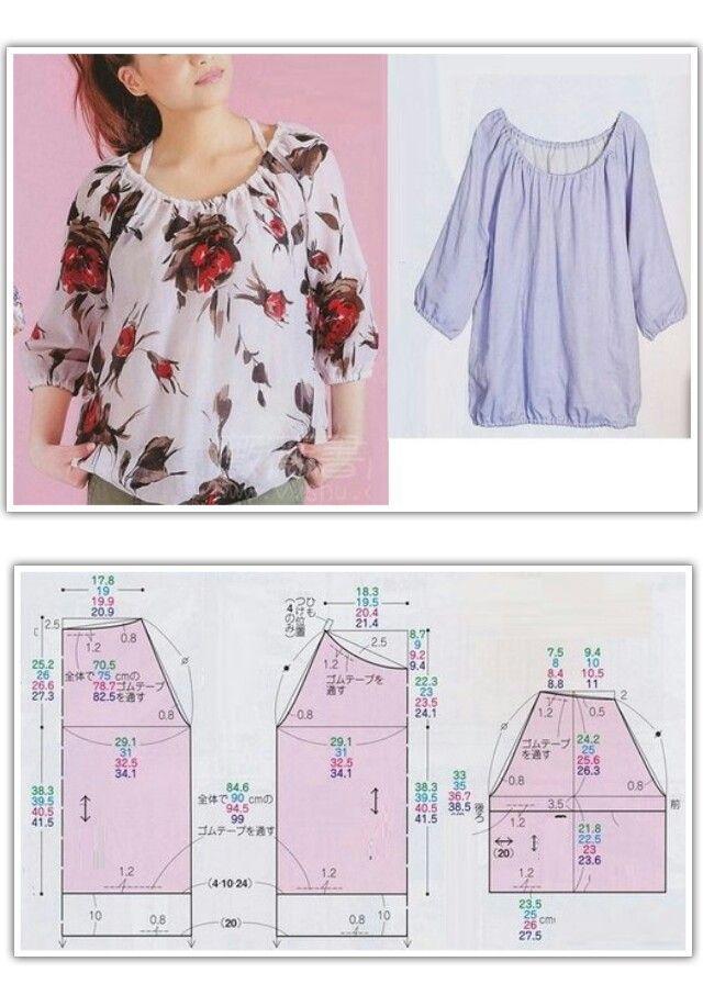 Pin de Maria bolaños en blusas de embarazo | Pinterest | Costura ...