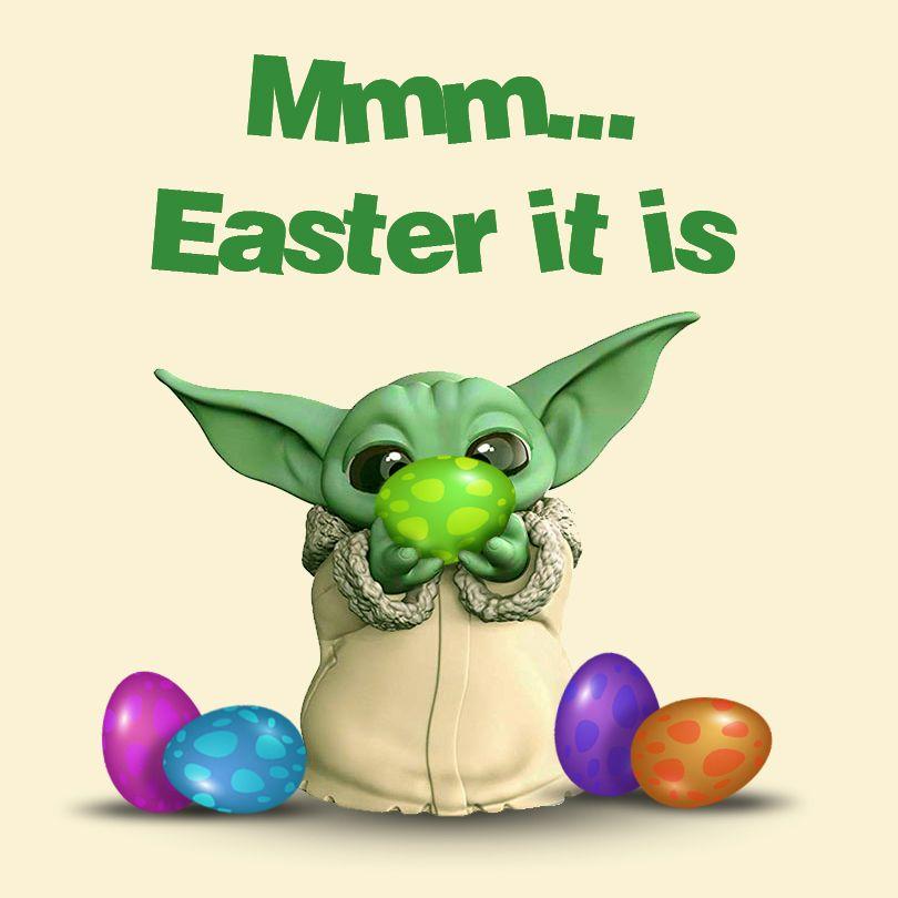 Mmm Easter It Is Yoda Wallpaper Yoda Images Yoda Meme