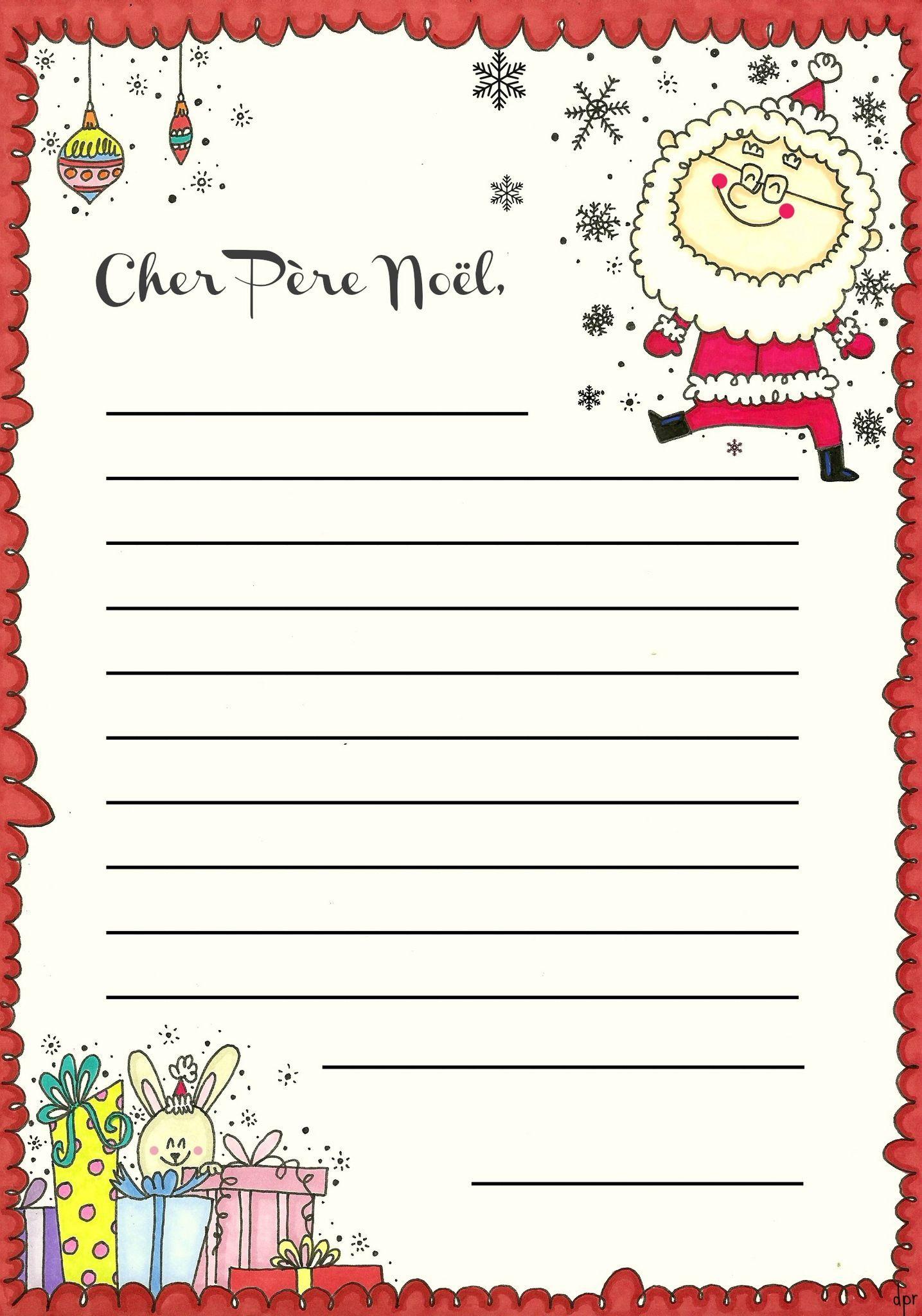 lettre au pre nol