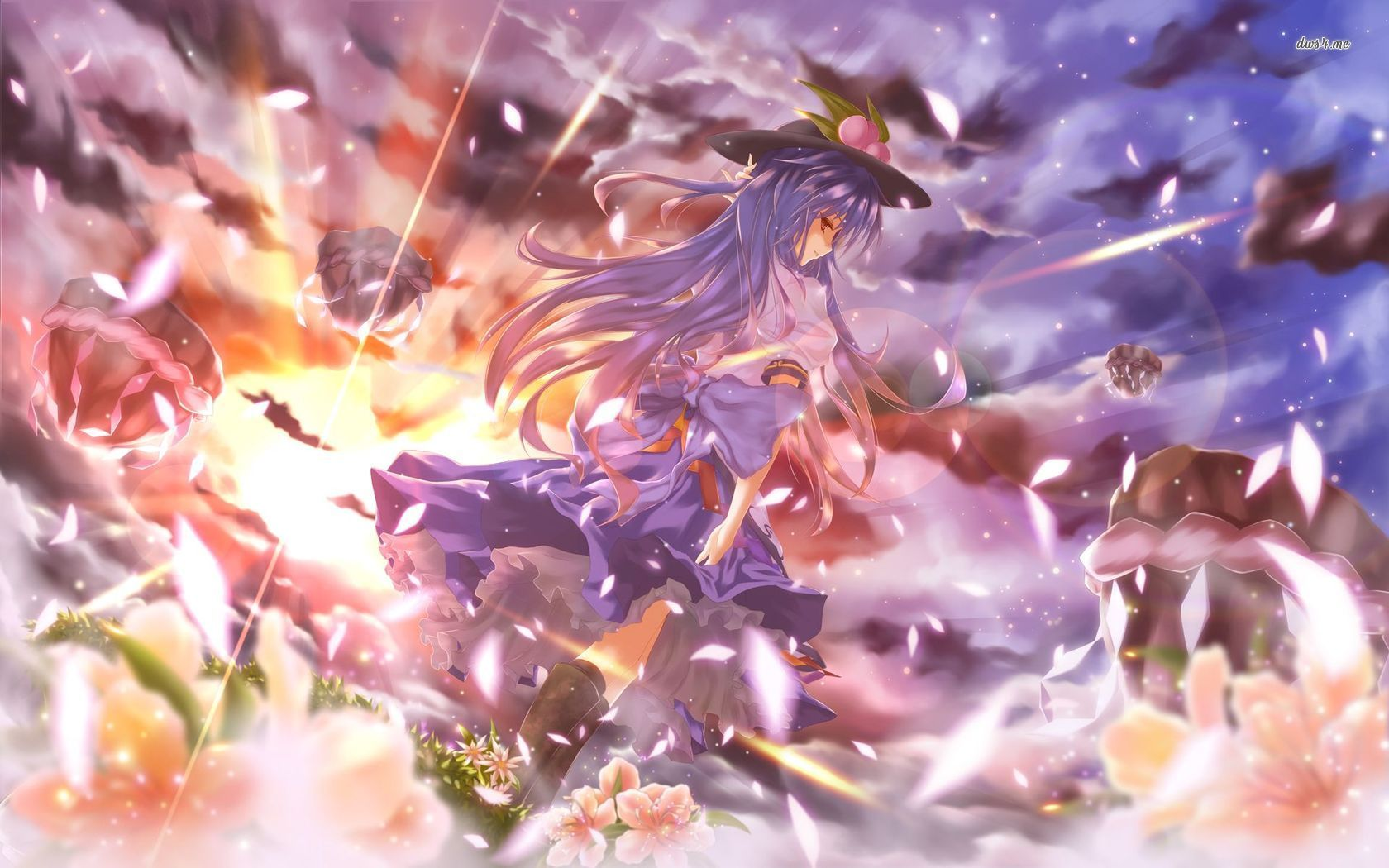 tenshi hinanawi touhou project anime wallpaper hd imashon com anime wallpaper wallpaper anime