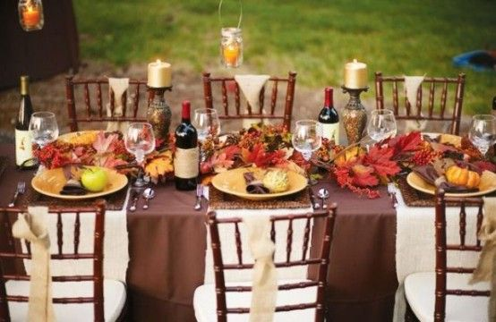 Thanksgiving Dinner Table Decorations thanksgiving dinner table ideas 60 stylish table settings for