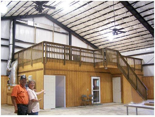 Interior shop garage steel building google search the for Metal building homes interior