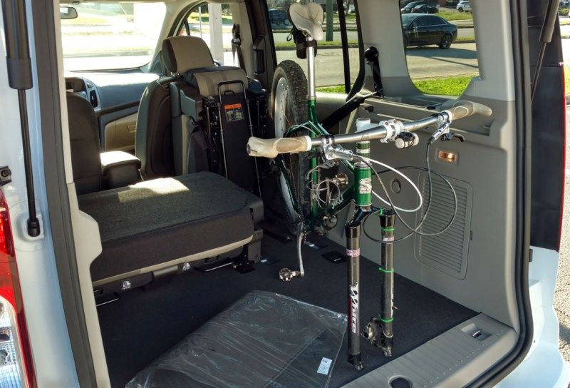 Image Result For Bike Rack For Ford Transit Connect Cargo Van