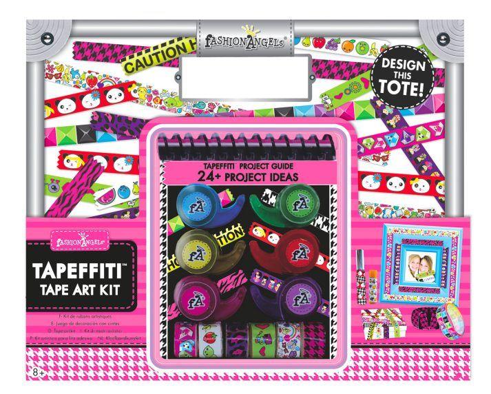 Tapeffiti Tape Art Craft Tote Tween Gifts