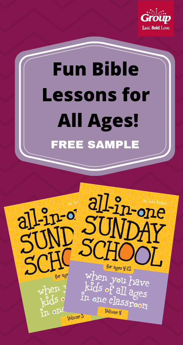 All-in-One is a best-selling Sunday school lesson series that kids