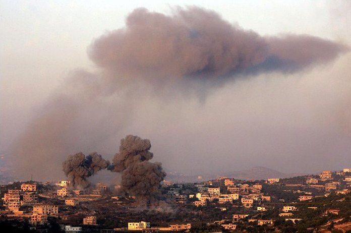 Denis Sinyakov conflito Líbano, 2006