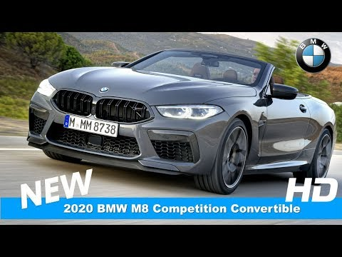 2020 Bmw M8 Competition Convertible Cabrio Introduce Youtube Bmw Convertible New Bmw
