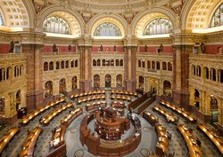 Travel Tuesday - Library of Congress Virtual Tour #geneabloggers #genealogy