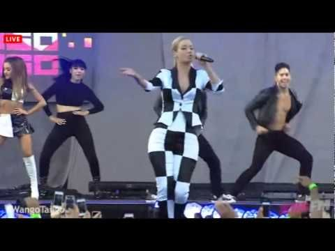 Ariana Grande Ft Iggy Azalea Problem Live At Wango Tango