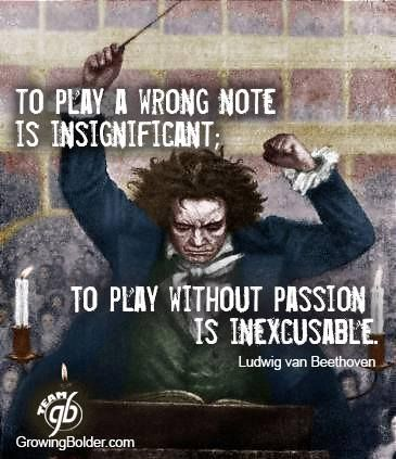 Image result for beethoven quotes passion
