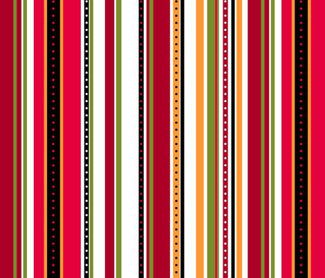 Coordinate Stripes 2 fabric by jadegordon on Spoonflower - custom fabric