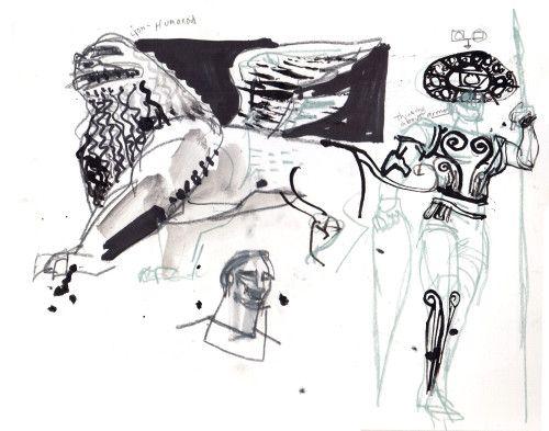 Symbols © Eddie Peña #studio1482 #illustration #design #art #drawing #reportage