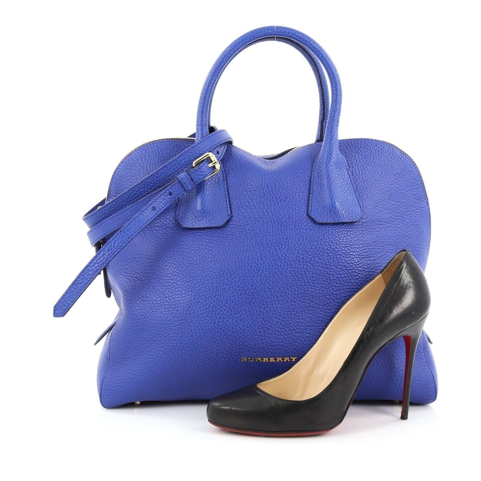 d3f37c9099 Burberry Greenwood Bowling Bag Grainy Leather Medium $610.0 | purses ...