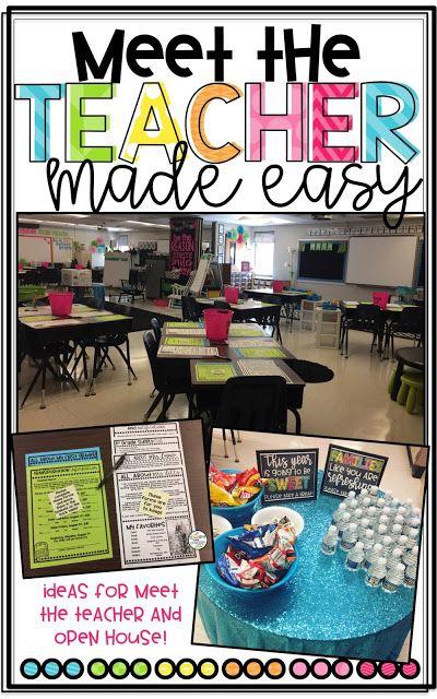 Meet the Teacher Made Easy!