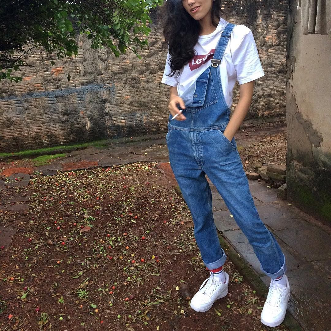 style, fashion, levis vintage, air force 1, outfit | Air