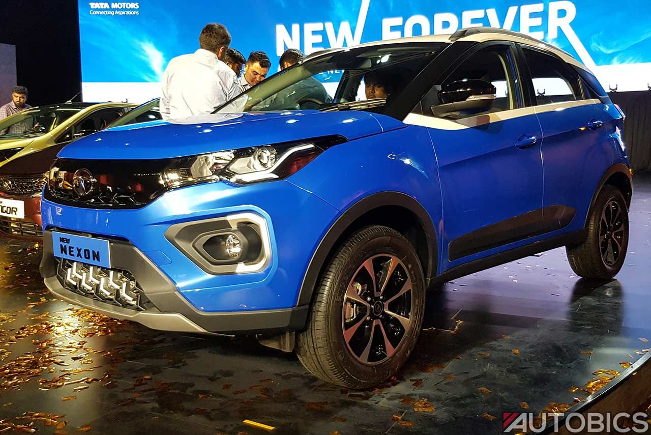 2020 Tata Nexon Launched in India; Priced from INR 6.95