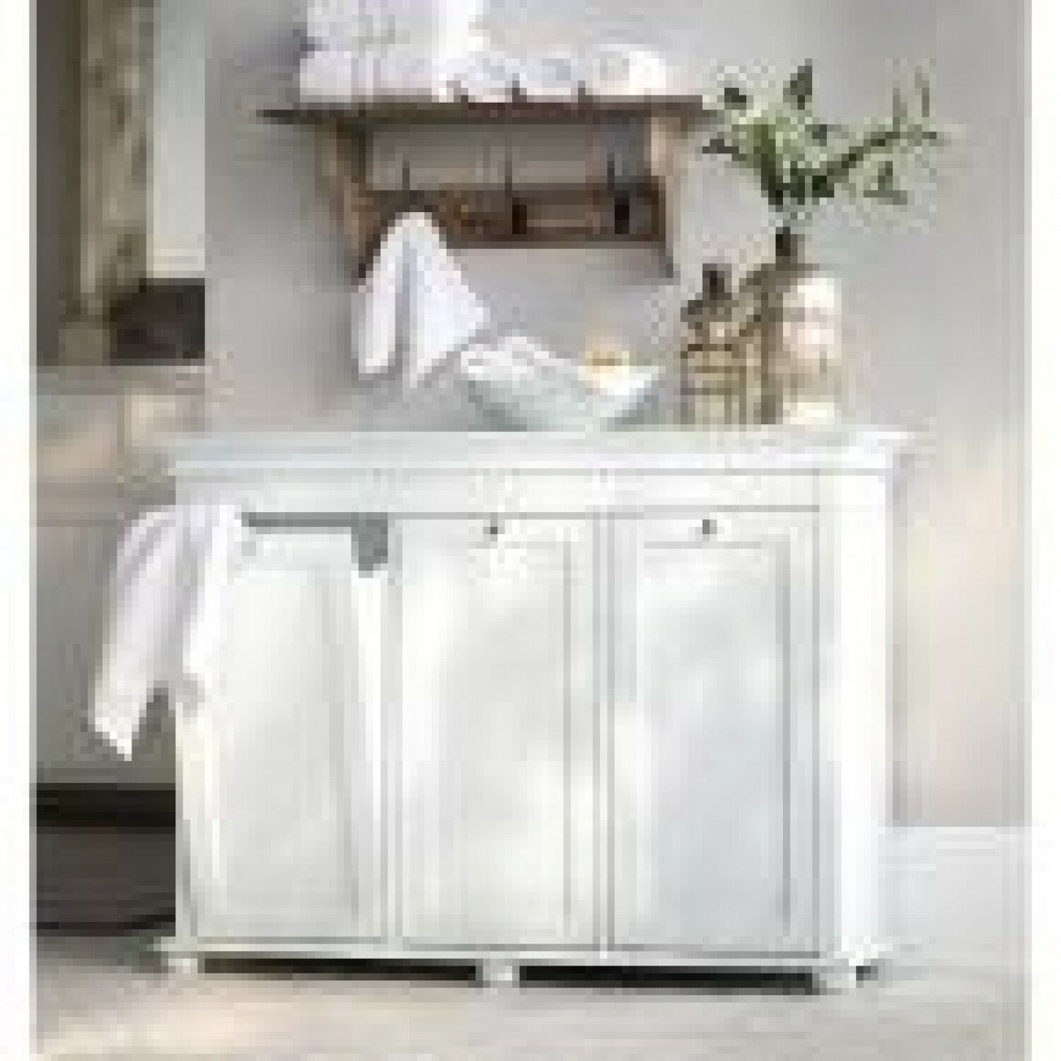 3 Compartment Tilt Out Laundry Hamper White Cabinet Liners Recycling Bin Basket Ebay Laundry Hamper White Cabinets Tilt Out Hamper