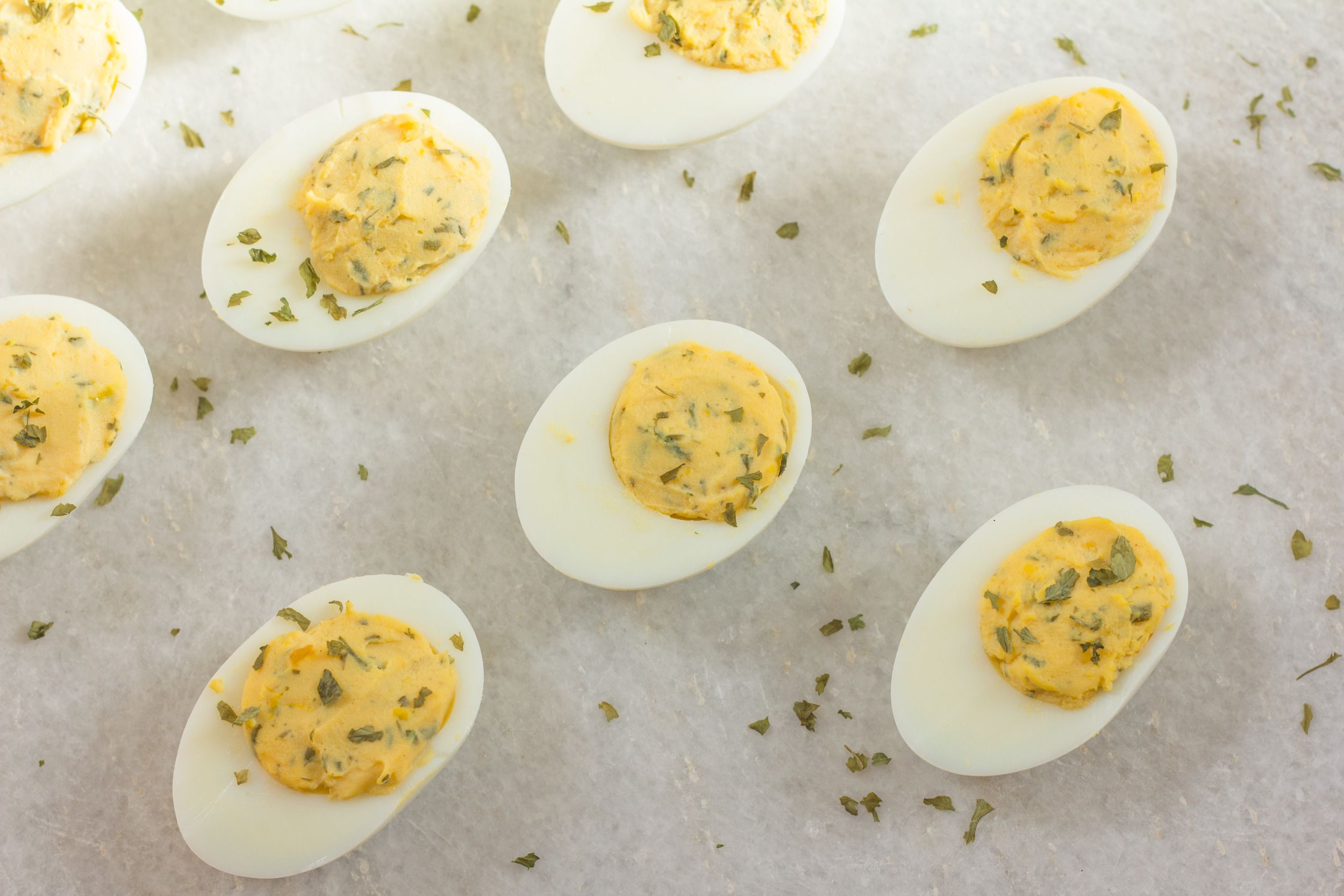 Making deviled eggs 16 different ways genius kitchen devil egg have fun making deviled eggs with our 16 recipes including bacon deviled eggs spinach forumfinder Gallery