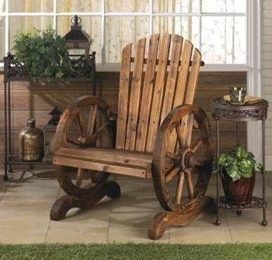 Esculturas madera bancs de jardin en bois fauteuil for Muebles cantero