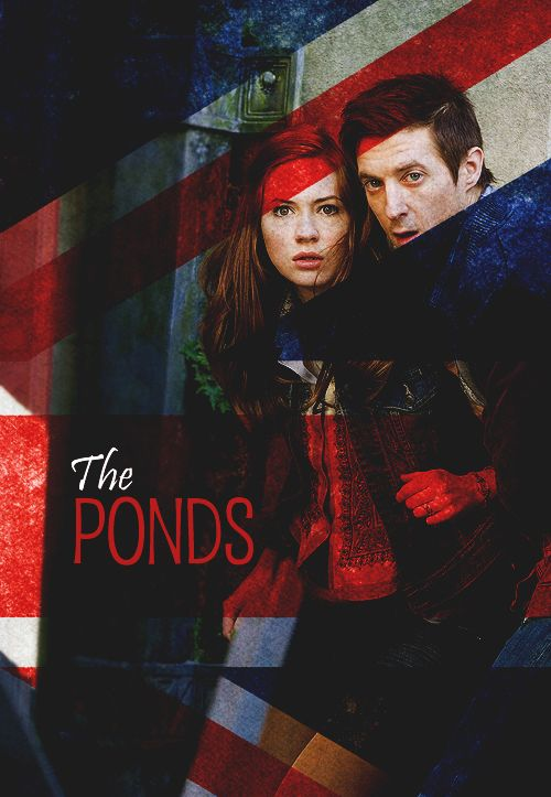 The Ponds. Yay! They. Are. So. Awesome!!! RoRAAYY the Roman and Amelia Pond, the Girl Who Waited.