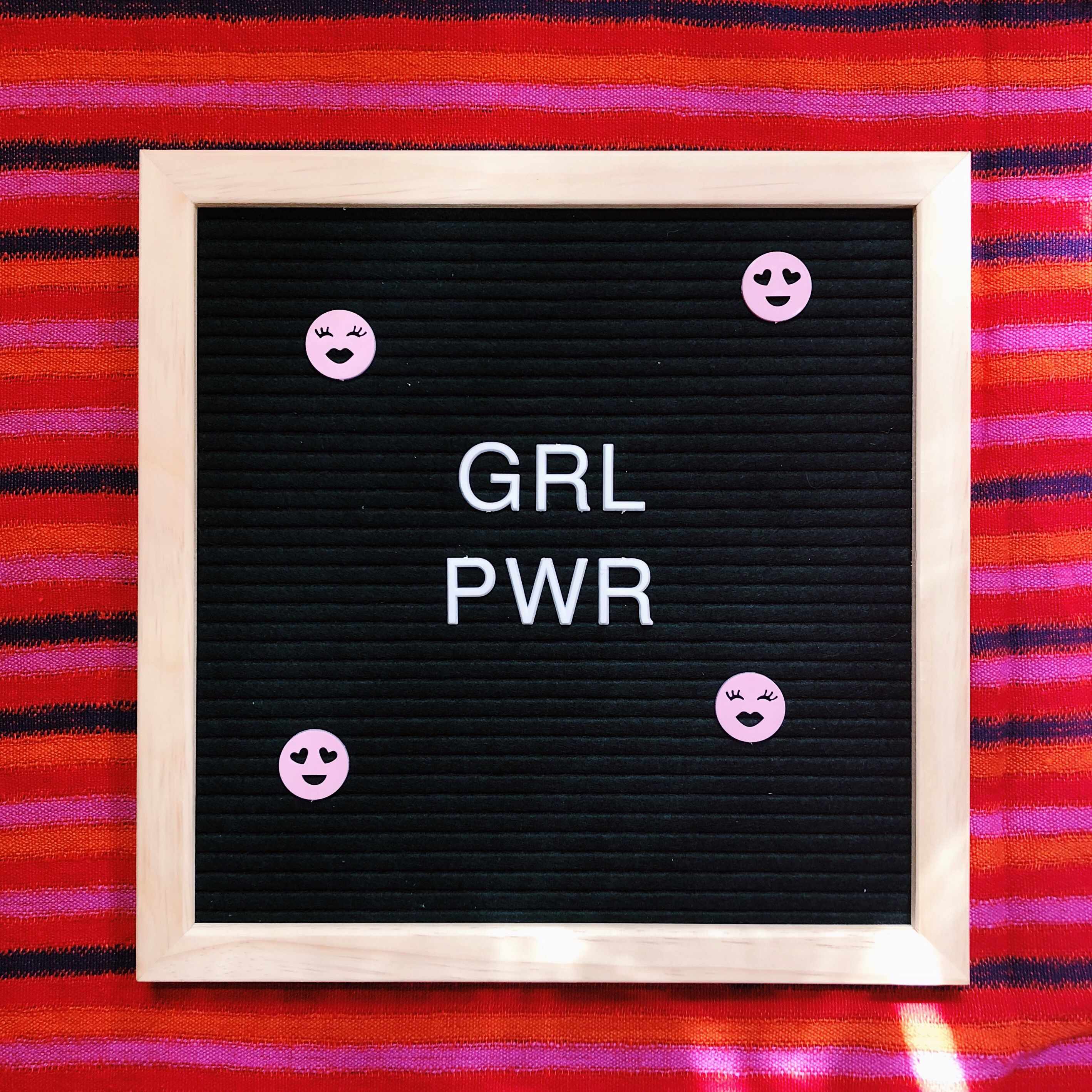 Womenempowerment Letterboard Girlpower We