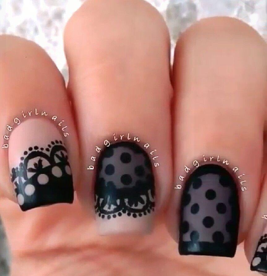 Fancy nails | NailsNailsNails | Pinterest | Fancy, Lace nails and ...