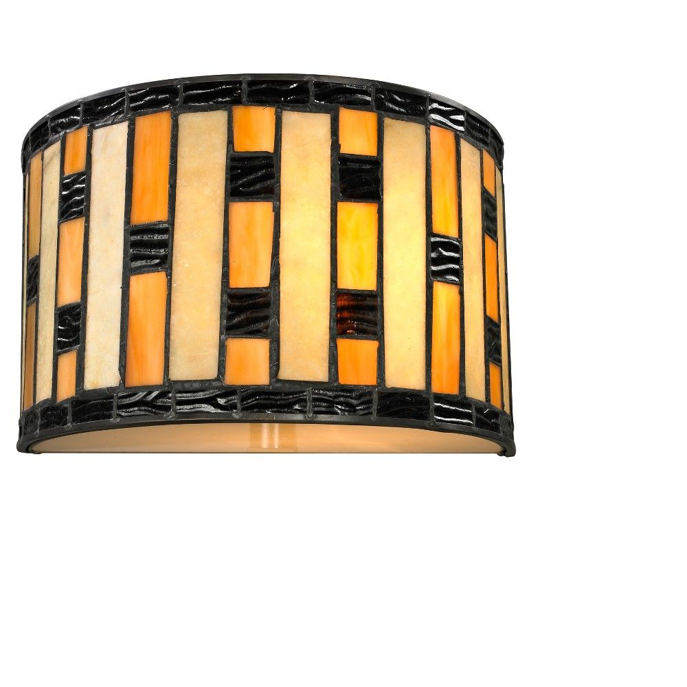 Sconce Wall Lights with Multi Colored Tiffany Glass - Z-Lite ...