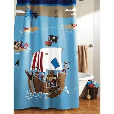 CircoTM Pirate Shower Curtain
