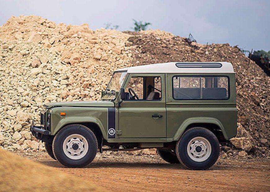 1990 Land Rover Defender Santana 2500DL Транспортное