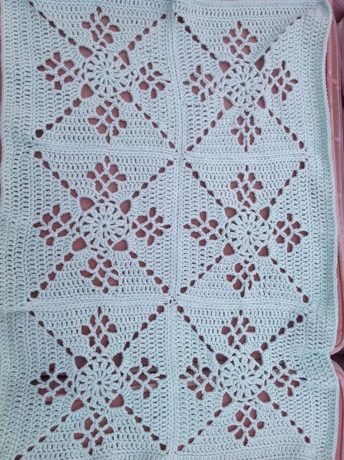 Ravelry: Project Gallery for Victorian Lattice Square pattern by ...