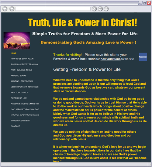 FREE PDF Book emailed to you  Check out Pete Cabrera and his healing