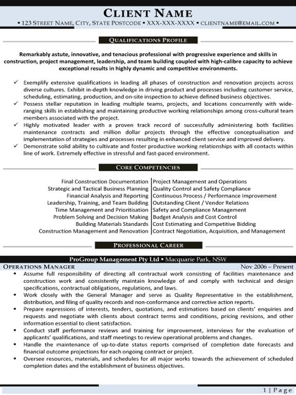 Resume Samples Resumes And Cvs Resume Resume Writing
